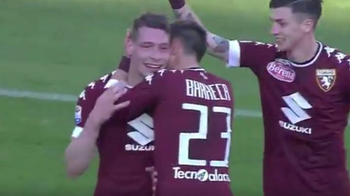 WATCH: Andrea Belotti Hits Eight Minute Hat-Trick For Torino