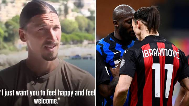 Zlatan Ibrahimovic Made A Special Gesture To Make Romelu Lukaku Feel Welcome At Manchester United