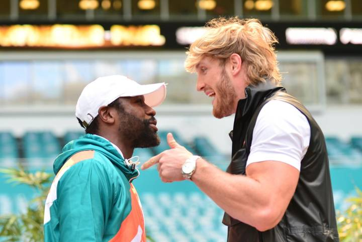 Logan Paul Says 'Floyd Mayweather Is Trying To Kill Me' Ahead Of Boxing Fight