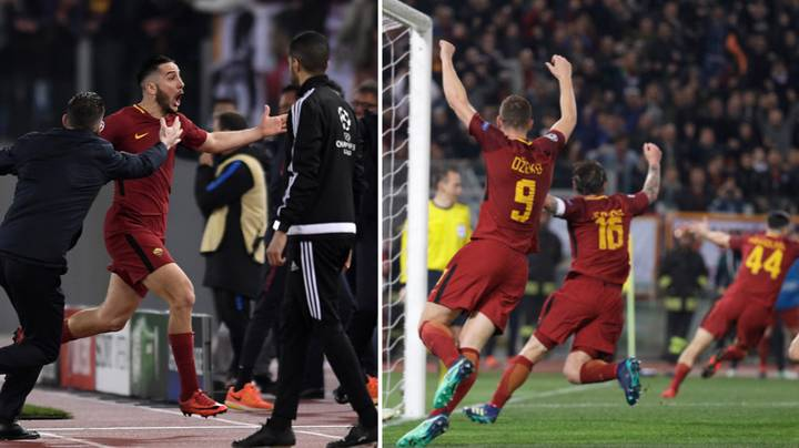 Watch: The Commentary For Kostas Manolas' Dramatic Winner Was Just Perfection