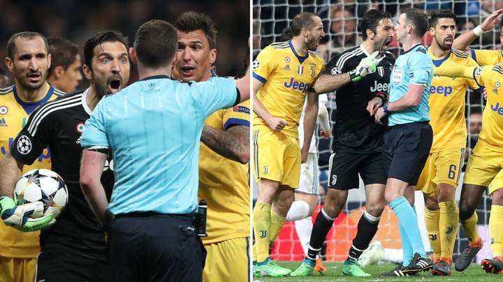 Gianluigi Buffon Refuses To Apologise To Michael Oliver In Another Rant