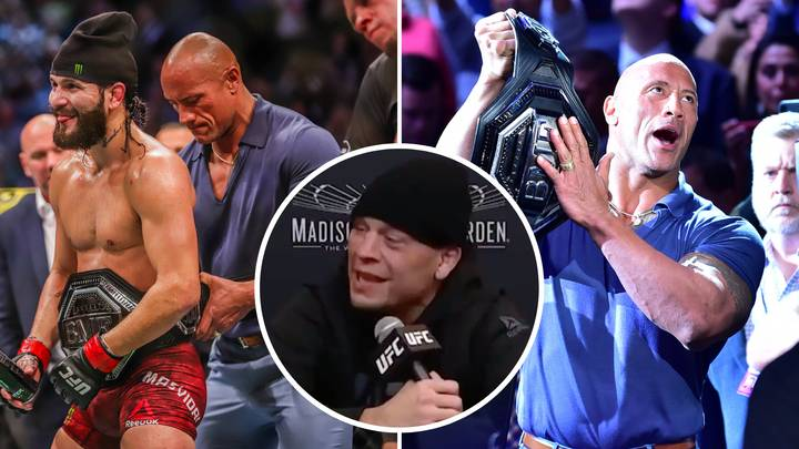 Nate Diaz Hilariously Slates Dwayne 'The Rock' Johnson After Loss To Jorge Masvidal