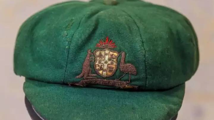 You Can Now Buy Sir Donald Bradman's First Ever Baggy Green Cap