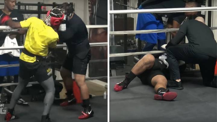 Footage Of KSI Knocking Out Sparring Partner Emerges Ahead Of Logan Paul Fight