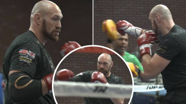 Never-Before-Seen Footage Of Tyson Fury Training For Deontay Wilder Rematch Has Emerged