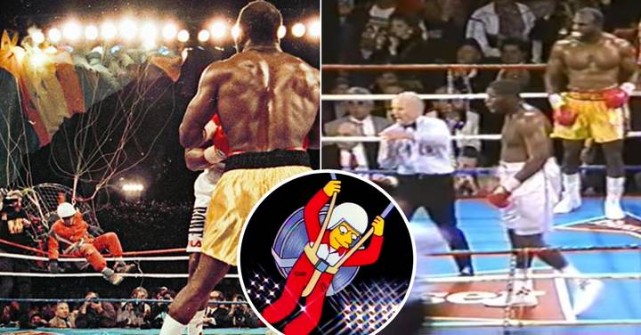 'Fan Man' Crashing World Title Fight Was Boxing's Craziest Ever Moment