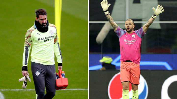 Scott Carson Determined To Play At Least One Game For Manchester City After Being Terrorised By Kyle Walker