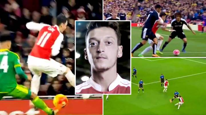 Incredible Highlights Of Mesut Ozil's 15/16 Season Prove He Was Once A World Class Talent