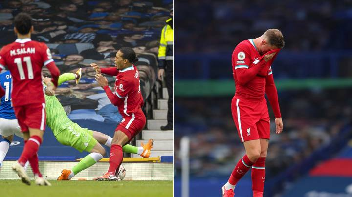 Liverpool Skipper Jordan Henderson Reveals Conversation Over Virgil Van Dijk Challenge With Everton's Jordan Pickford