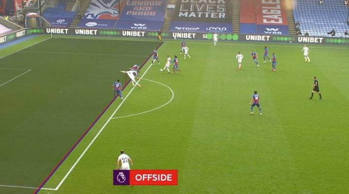 Revealed: Why VAR Disallowed Patrick Bamford's Goal For Leeds Against Crystal Palace