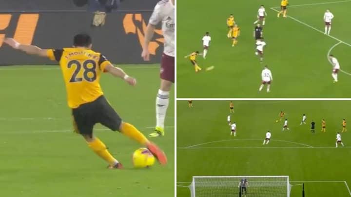 Joao Moutinho Scores Wonder Strike For Wolves Against Arsenal
