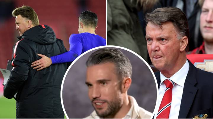 "Robin van Persie Reveals The Talk He Had With ""Ruthless"" Louis van Gaal That Led To Manchester United Exit"