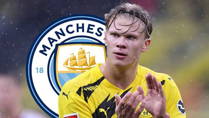 Manchester City Step Up Pursuit Of Erling Haaland With 'Transfer Meeting' To Meet £64Million Release Clause