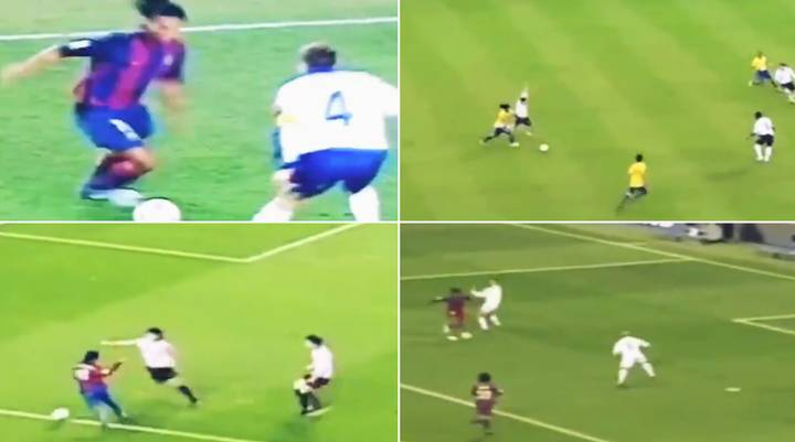 'Utterly Unbelievable': Fans React As Ronaldinho Highlight Reel Goes Viral