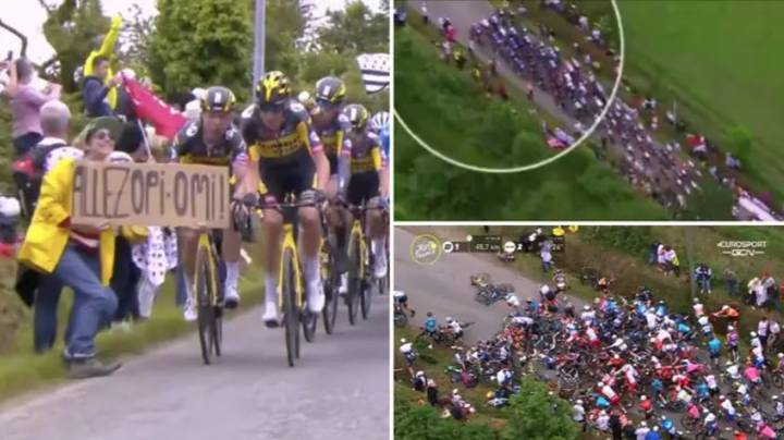 Woman Who Caused Huge Tour de France Crash On The Opening Stage Has Been Arrested