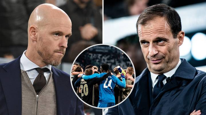Juventus Boss Max Allegri Claims That Ajax Have Been Lucky In The Champions League