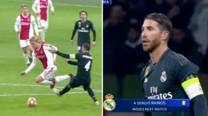 Sergio Ramos Given Two-Game Ban For Deliberately Getting A Yellow Card