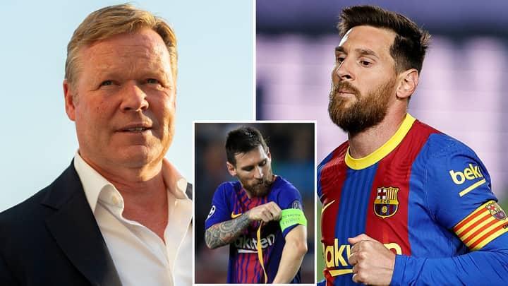 Barcelona's Four-Man Captain List For New La Liga Season Revealed After Lionel Messi's Exit