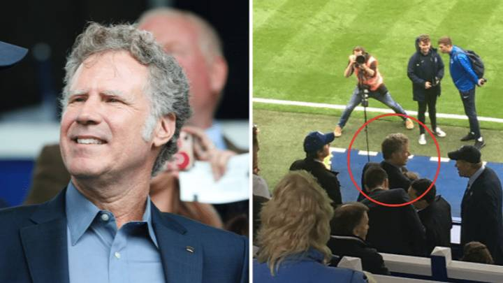 Will Ferrell Spotted In Crowd At League One Game Between Portsmouth And Tranmere