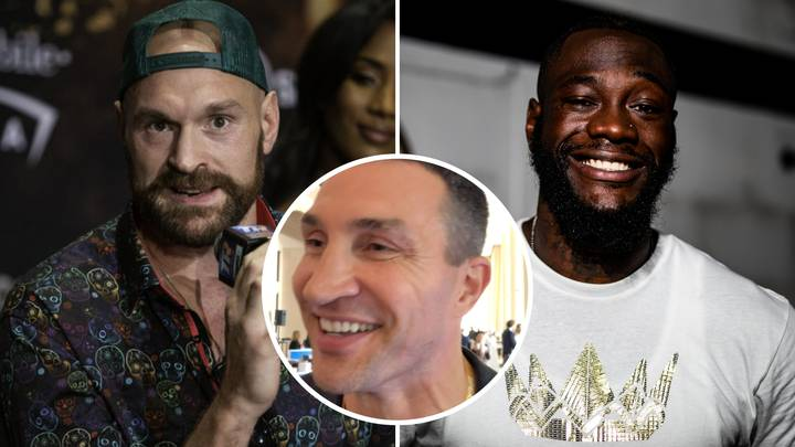 Wladimir Klitschko Gives His Honest Prediction For Tyson Fury And Deontay Wilder's Rematch