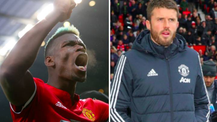 Paul Pogba Reveals How Michael Carrick Was Instrumental In His Stunning Derby Brace