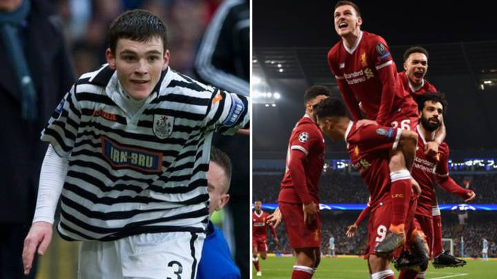 Andy Robertson Has Come A Long, Long Way In Five Years