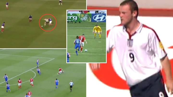 Video Of 18-Year-Old Wayne Rooney 'Taking The Mick' Out Of Zidane Shows He Was The Original Generational Talent
