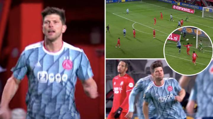 37-Year-Old Klaas-Jan Huntelaar Comes Off The Bench To Score Crucial Late Brace For Ajax