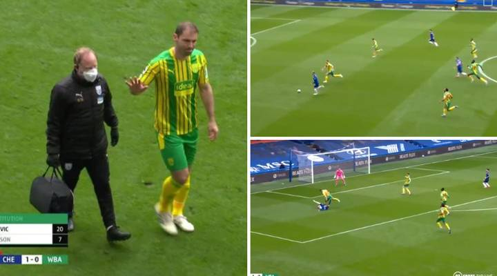 Branislav Ivanovic Injured Himself Trying To Keep Up With Chelsea's Timo Werner