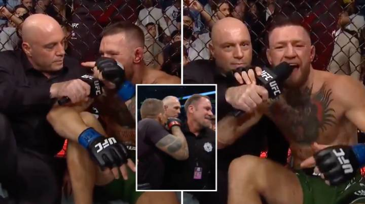 Conor McGregor Turns Back Time And Delivers Iconic Trash-Talking Post-Fight Interview With Joe Rogan At UFC 264