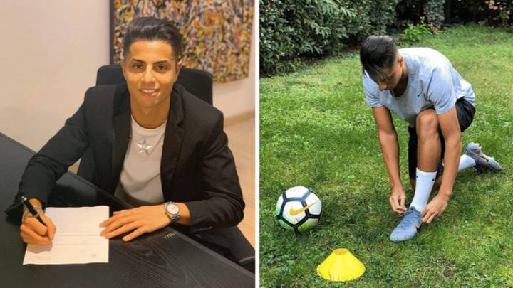 YouTube Sensation Hachim Mastour Joins Fifth Club And He's Only 21 Years Old