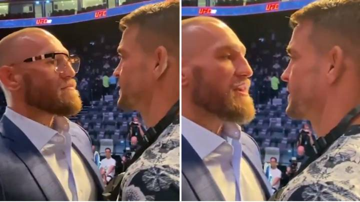 You Can Hear Every Word Of Conor McGregor And Dustin Poirier's Intense Face-Off