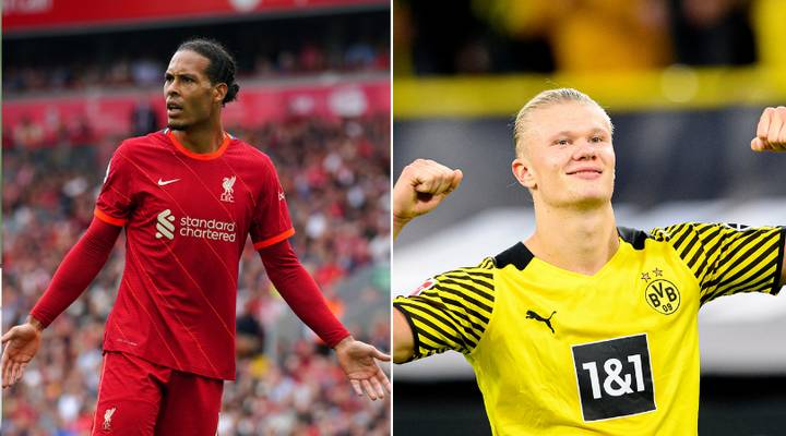 Virgil Van Dijk Explains Why Erling Haaland Is One Of The Best Players In The World