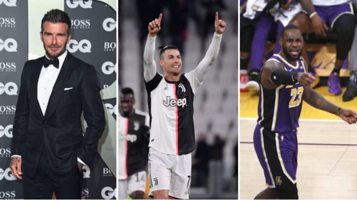 The Top 10 Most Followed Sportsmen On Instagram