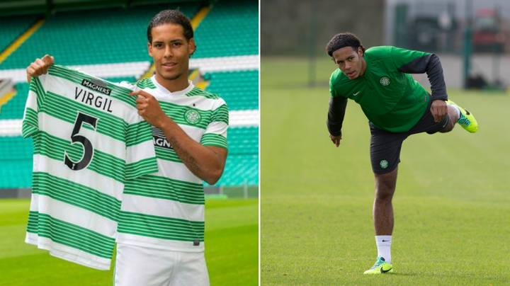 What Virgil van Dijk Was Told After His Very First Training Session At Celtic