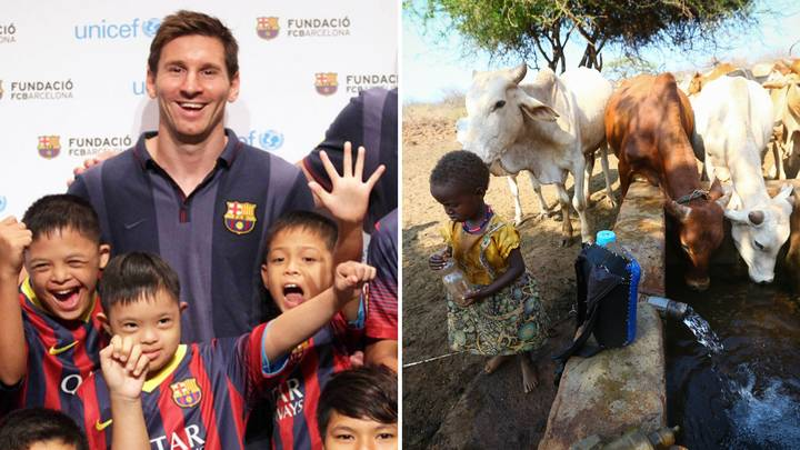 The Leo Messi Foundation Backs Food And Water Projects In Kenya With €200,000 Donation