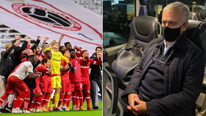 Jose Mourinho Produces Incredible Post On Instagram After Spurs Lose 1-0 To Royal Antwerp