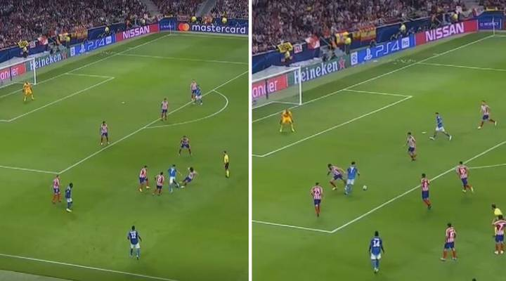 Cristiano Ronaldo Destroyed Five Atletico Madrid Players And Almost Scored A Sublime Winner For Juventus