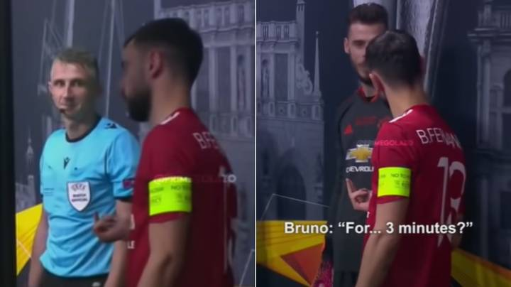 New Tunnel Cam Footage Shows Bruno Fernandes Venting His Frustration At Referees