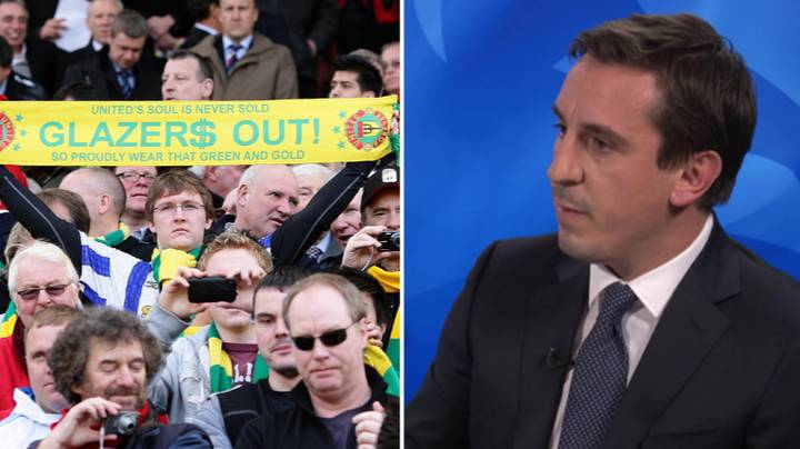 Manchester United Fans Turn On 'Weasel' Gary Neville After He 'Defends' The Glazers