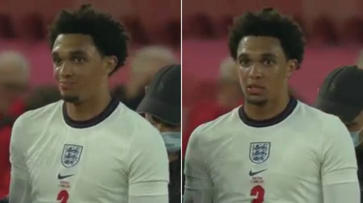 Cameras Picked Up What Trent Alexander-Arnold Said To England Physio And It's Not Good