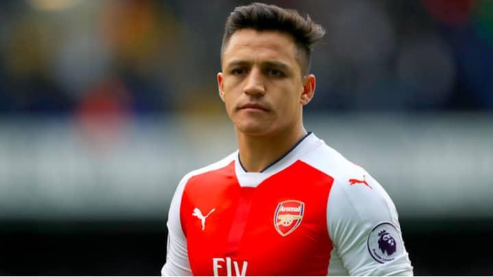 A Leaked Picture Of Alexis Sanchez Drops Major Hint About His Future