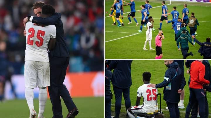 Fans Are Slamming Gareth Southgate's Decision In Letting 19-Year-Old Bukayo Saka Take The Decisive Penalty