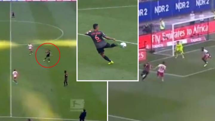 Thiago Alcantara Is Responsible For One Of The Most Satisfying Passes Ever