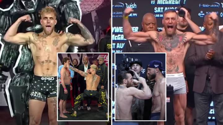 Jake Paul Accused Of Trying To Copy Conor McGregor During Weigh-In