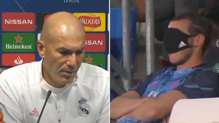 Zinedine Zidane Explains Why Gareth Bale Won't Play Against Manchester City