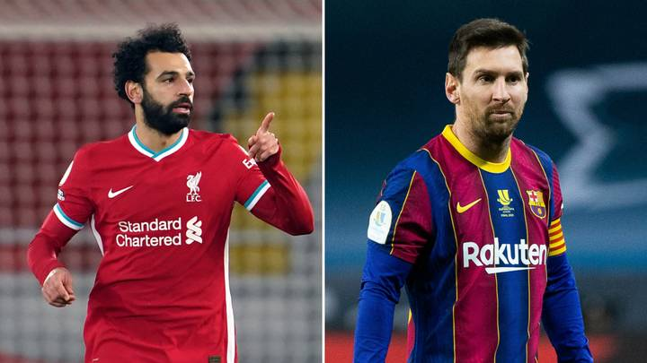 """Liverpool Superstar Mohamed Salah Called """"The Lionel Messi Of Africa"""""""