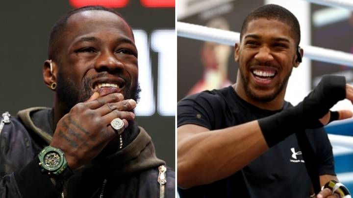 Anthony Joshua Drops A Cheeky Swipe At Deontay Wilder After Tyson Fury Defeat