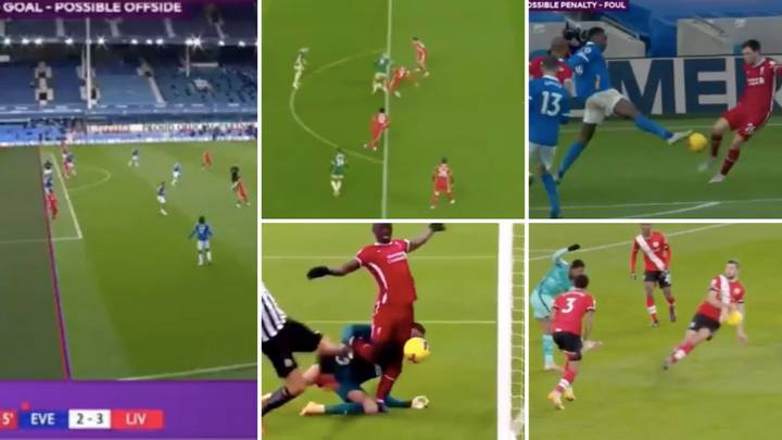 Liverpool Fan Puts Together Video Of All The Referee And VAR Decisions That Went Against Them