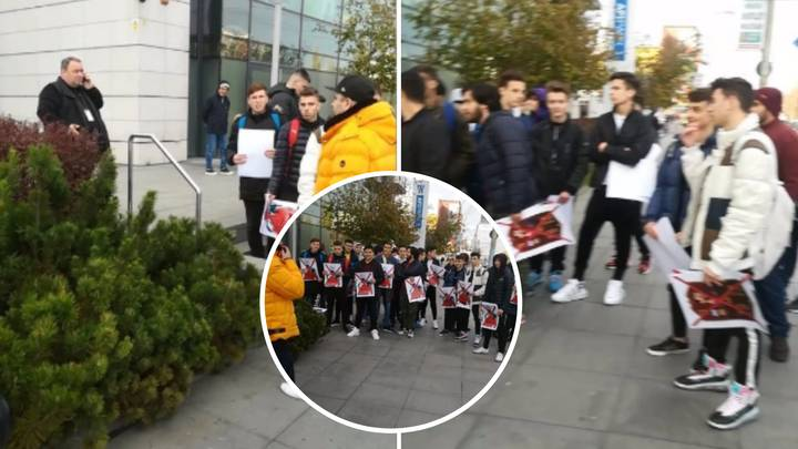 FIFA 20 Players Take A Stand Against EA By Protesting Outside Of Publisher's Headquarters